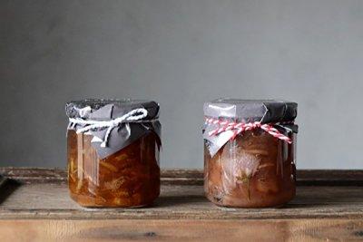 吉祥寺のお菓子やさん hamayaのジャム 「季節のジャム2種セット(りんごと桜 / レモンのマーマレード)」