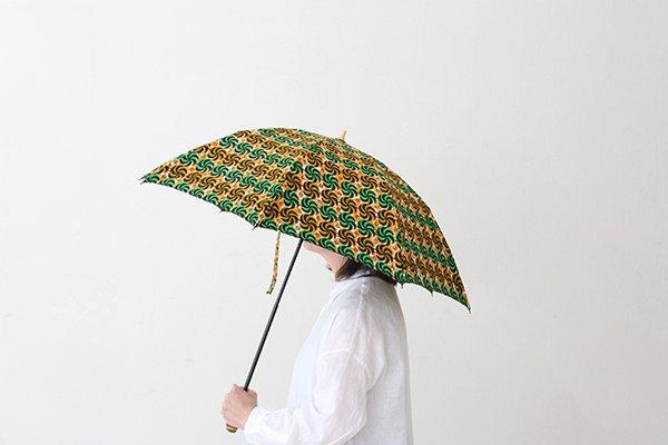 【新入荷】Sun mi /サンミ  50cm × 8本骨 折り畳み傘 アフリカンバティック 晴雨兼用 傘 【UV&撥水加工】  [8.22 11:00~]