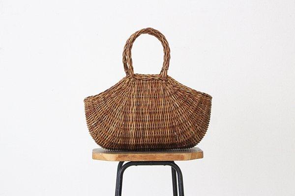 宮本工芸 あけびの籠 バッグ  織編(6)
