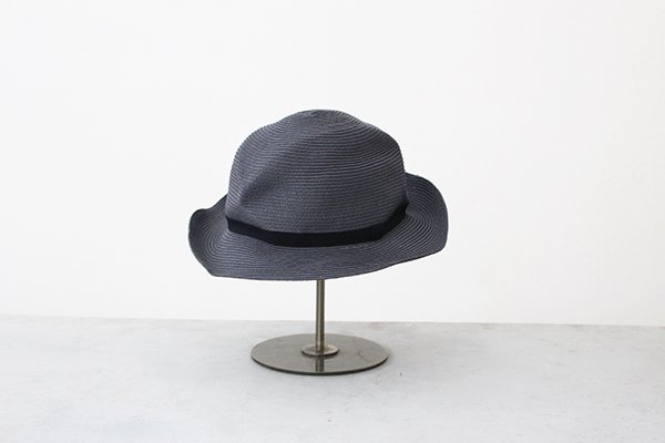 mature ha. / マチュアーハ BOXED HAT MBOX-105(charcoal×black 6.5cm)