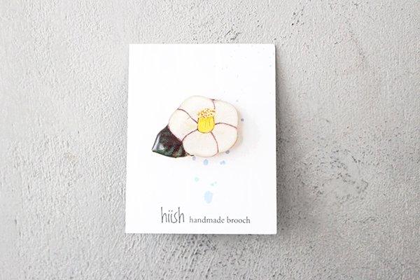 【NEW】hiish ブローチ 沙羅双樹の帯留め (36)