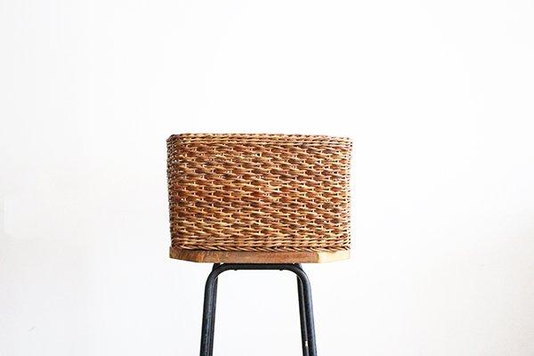 宮本工芸 あけびの籠 小松編みバスケット
