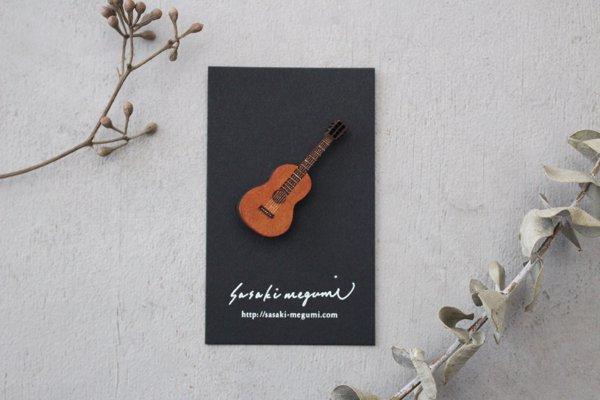 ささきめぐみ ブローチ ギター(5)