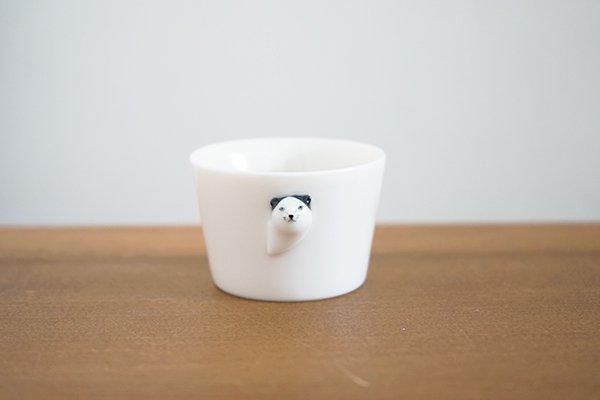 【新作】楽土 / 多田せいぞう  お猪口    猫  / Cat(箱入り)