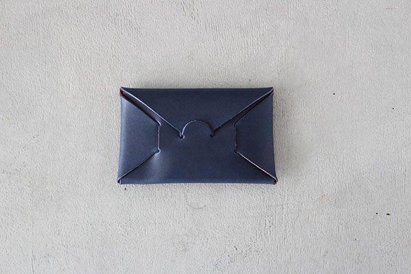 〇【カタカナ10周年記念スペシャルアイテム】 irose/イロセ CARD CASE カードケース 赤×瑠璃紺