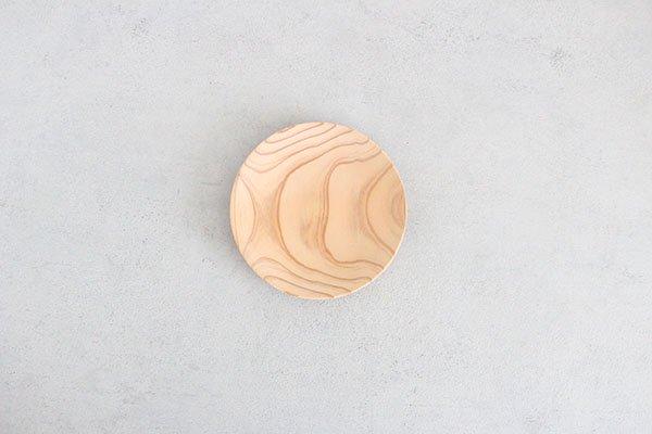 〇佐藤木材商店(さとうもくざいしょうてん)秋田杉のうつわ  KACOMI  5寸150