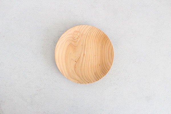 〇佐藤木材商店(さとうもくざいしょうてん)秋田杉のうつわ  KACOMI  六寸180