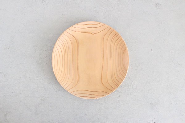 〇佐藤木材商店(さとうもくざいしょうてん)秋田杉のうつわ  KACOMI  八寸240