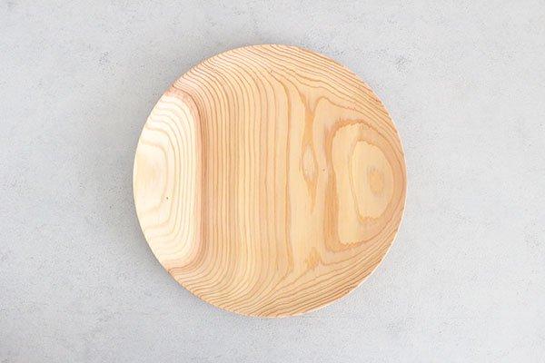 〇佐藤木材商店(さとうもくざいしょうてん)秋田杉のうつわ  KACOMI  一尺一寸330