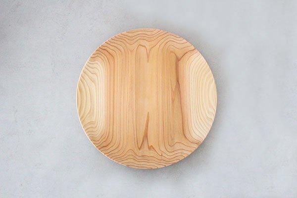 〇佐藤木材商店(さとうもくざいしょうてん)秋田杉のうつわ  KACOMI  一尺二寸360