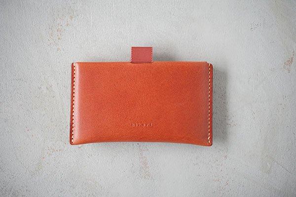 【受注生産商品・1カ月半後の発送】hirari / 平山篤 CARD CASE(BROWN)