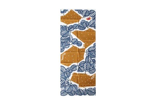 kata kata/カタカタ 注染てぬぐい (カミキリムシ 茶)