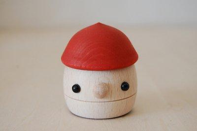 おもちゃのこまむぐ どんぐりころころ(赤)