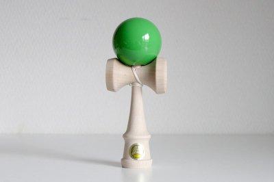 山形工房 日本けん玉協会認定 競技用けん玉 大空(緑)