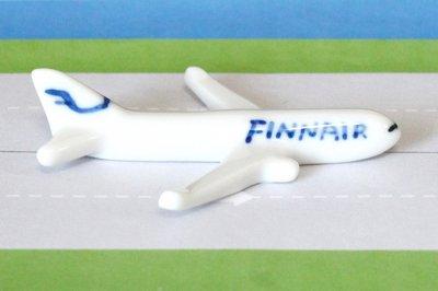 飛行機箸置き  (フィンエアーFIN A330) 【8.29 11時より販売スタート】