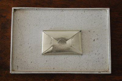 irose/イロセ SEAMLESS CARD CASE ACC-SL01(シルバー)【1週間後の発送】