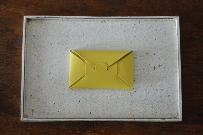 irose/イロセ SEAMLESS CARD CASE ACC-SL01(イエロー)【1週間後の発送】