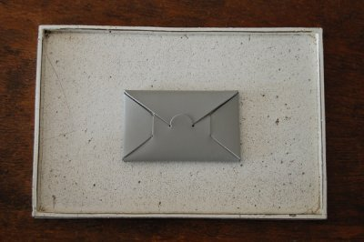 irose/イロセ SEAMLESS CARD CASE ACC-SL01(グレー)【1週間後の発送】