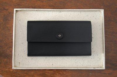 irose イロセ CARDBOARD LONG WALLET ACC-C01(ブラック)【在庫限りで販売終了】ラスト一点