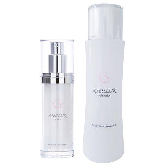 【新発売】アジュリール リッチローション<美容液化粧水>150mL+アジュリール セラム<美容液>30mL