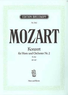 モーツァルト ホルン協奏曲 第2(ネコボス対応)