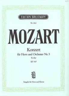 モーツァルト ホルン協奏曲 第3番(ネコボス対応)