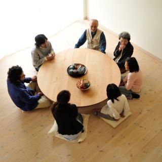 丸ローテーブル(直径140cm)