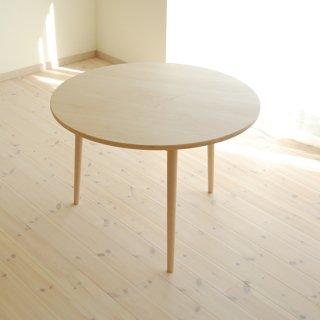 丸ダイニングテーブル3本脚(直径110cm)