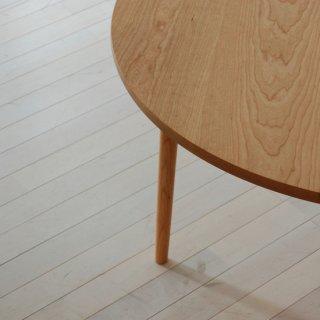 丸ダイニングテーブル4本脚(直径110cm)