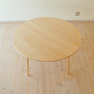 丸ダイニングテーブル4本脚(直径125cm)