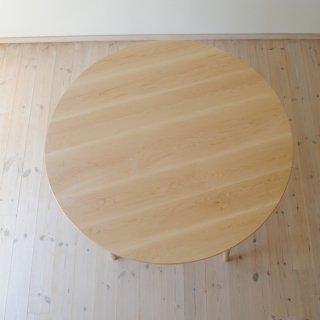 丸ダイニングテーブル5本脚(直径130cm)