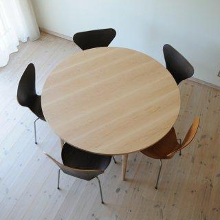 丸ダイニングテーブル5本脚(直径125cm)