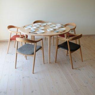 丸ダイニングテーブル5本脚(直径150cm)