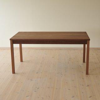 W150cm、ウォルナットダイニングテーブルtypeS(早割適用なし)