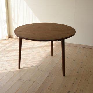 丸ダイニングテーブル3本脚(直径105cm)