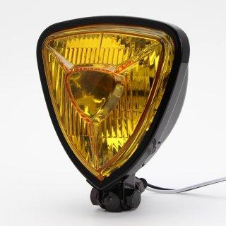 トライアングル ヘッドライト イエロー ブラック