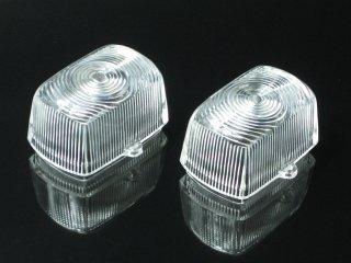 ウインカーレンズ クリア 2枚SET NSR50/NSR800/ズーマー/XR50/XR100/ジュリオ