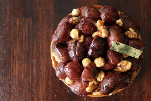 【プレミアムタルト】 自然栽培 和栗の渋皮煮とマロンクリームの贅沢タルト