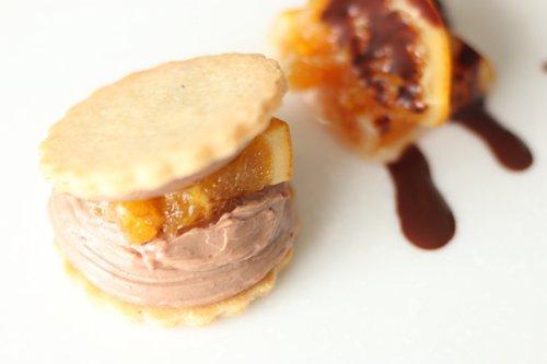 甘くてほろ苦い無農薬オレンジとなめらかチョコクリーム 『ショコラオランジュ』