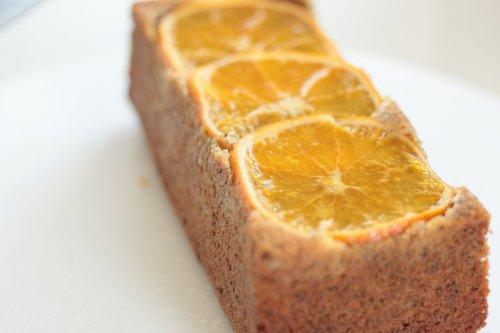 【乳・卵・小麦不使用】無農薬のネーブルオレンジとディカフェアールグレイのケイク
