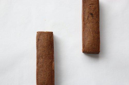 有機ココナッツとキャロブのクッキー