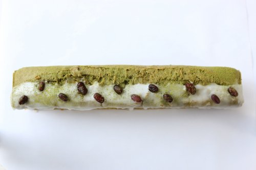 京都宇治の有機抹茶と北海道産 有機大納言小豆のパウンドケーキ