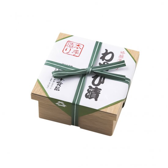 【5/13入荷予定】(冷蔵)本手造りわさび漬け 110g
