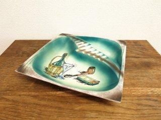 ビンテージ 陶器 アシュトレイ