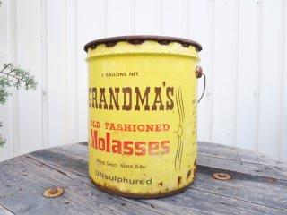 ビンテージ 70's GRANDMA'S シロップ缶