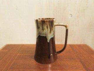 ビンテージ 陶器ビアマグ