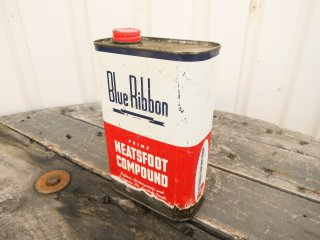 ビンテージ Blue Ribbon オイル缶