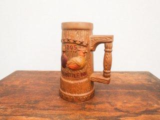 ビンテージ 70's NAPCOWARE社製 陶器ビアマグ