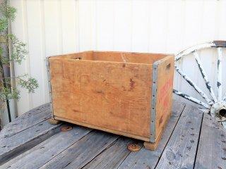 ビンテージ JERSEYMAID MILK 木箱