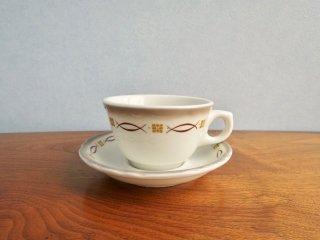 ビンテージ 陶器カップ&ソーサー
